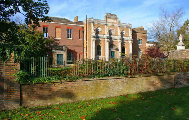 Pitzhanger Manor, Restoration-in-Progress Tour, by Architect Heinz Richards...