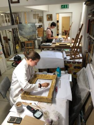 Gilding and Historic Paint Effects: children's conservation craft workshop