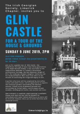 Limerick Chapter: Glin Castle Tour